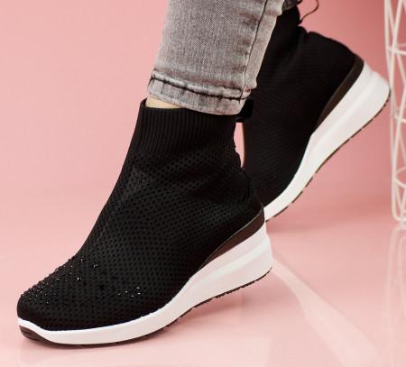 Pantofi sport negri cod:AB838