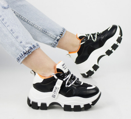 Pantofi sport negri cod:TR710