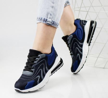 Pantofi sport negri cod:4002