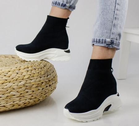 Pantofi sport negri cod:5823