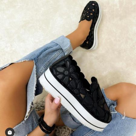 Pantofi dama negri cod:FL12