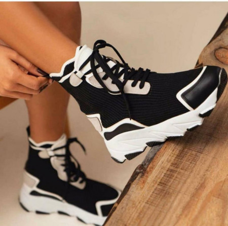 Pantofi sport gen gheata din material textil cod:SZ22