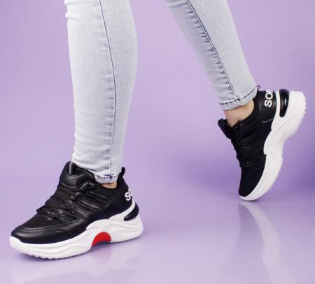Pantofi sport negri cod:2035N