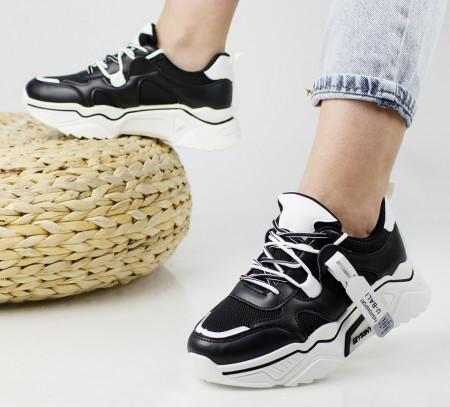 Pantofi sport negri cod:AB5720N