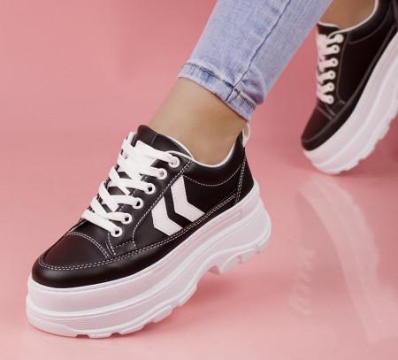 Pantofi sport negri cod:M02
