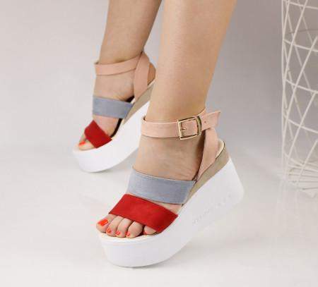 Sandale dama cu platforma COD:TR370