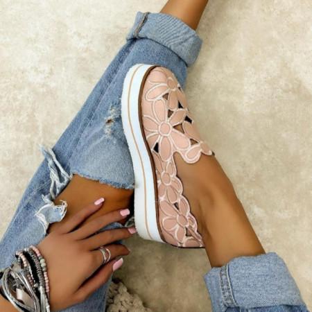 Pantofi dama roz cod:FL13
