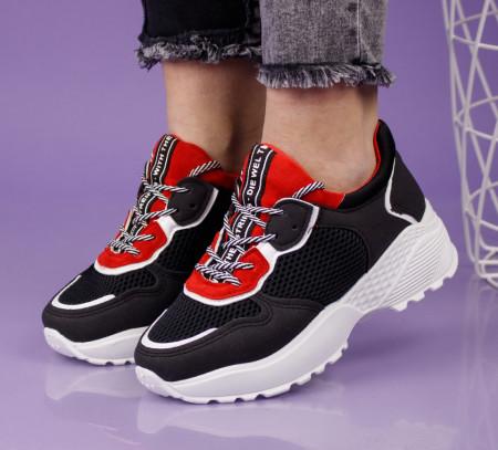 Pantofi sport negri cod:LL1753