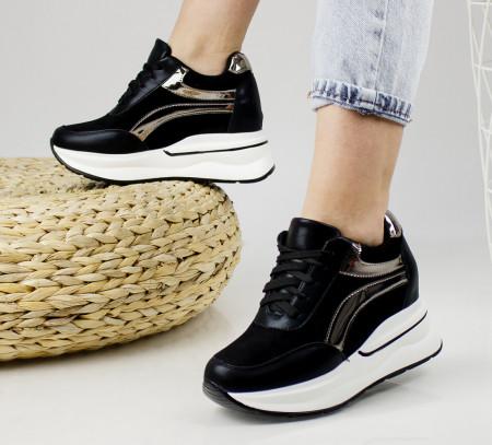 Pantofi sport negri cod:Y223