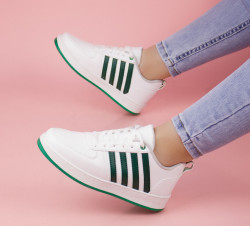 Pantofi sport albi cod:4B