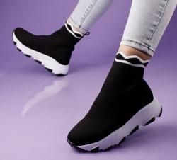 Pantofi sport negri cod:G991