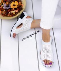Sandale dama albe COD:A221
