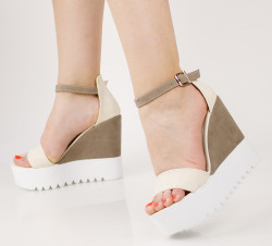 Sandale dama cu platforma COD:TR320