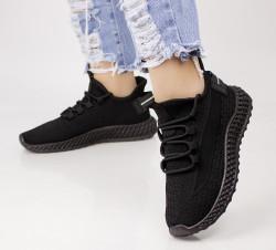Pantofi dama negrii COD:XJH-45