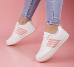Pantofi sport albi cod:4R