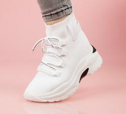 Pantofi sport albi cod:AB117