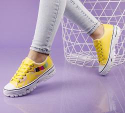 Pantofi sport galbeni cod:C108