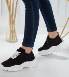 Pantofi sport negri cod:k88
