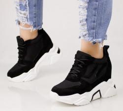 Pantofi sport negrii COD:Y588