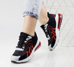 Pantofi sport rosii cod:4002