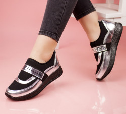 Pantofi dama argintii COD:LV66