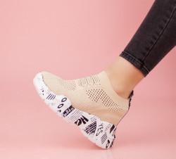 Pantofi dama bej COD:K121B