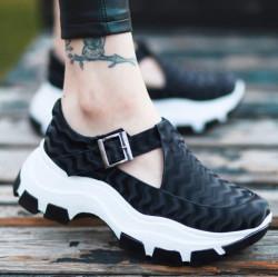 Pantofi dama negrii COD:K221N