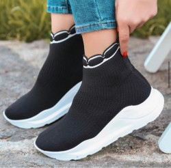 Pantofi sport negri cod:n991