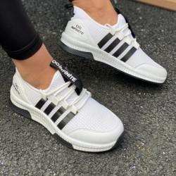 Pantofi sport alb/negru cod:SNN09