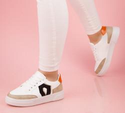 Pantofi sport albi cod:V06