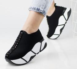 Pantofi sport negri cod:1206N