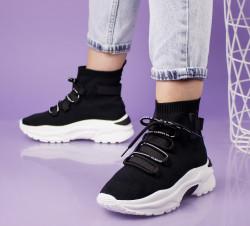 Pantofi sport negri cod:AB117N
