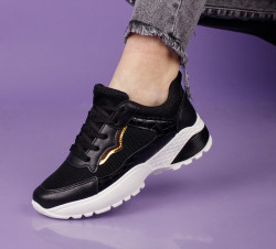 Pantofi sport negri cod:SL15