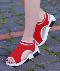 Sandale dama rosii COD:K321
