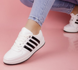 Pantofi sport albi cod:4N