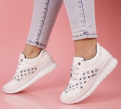 Pantofi sport albi cod:LV33