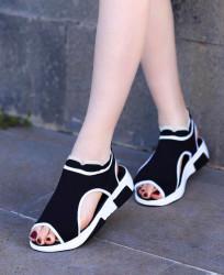 Sandale dama negre COD:K321N
