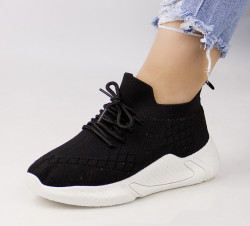 Pantofi dama negri COD:LT197N