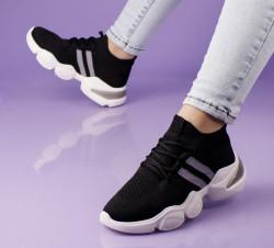 Pantofi sport negri cod:C103