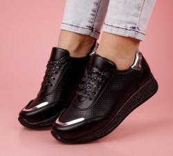 Pantofi sport negri cod:LV44