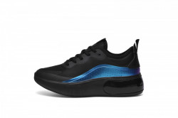 Pantofi sport negri cu talpa de spuma cod:D9000