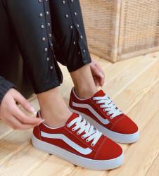 Pantofi sport rosii cod:6001R