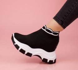 Pantofi dama negrii COD:K18