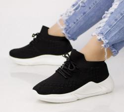 Pantofi dama negrii COD:LT197N