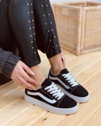Pantofi sport negri cod:6001N