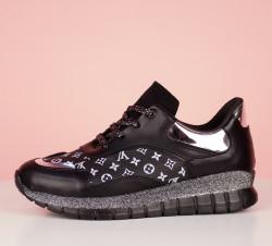 Pantofi sport negri cod:LV34