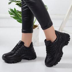 Pantofi sport negri cod:TR501N