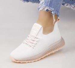 Pantofi dama alb COD:AB5689