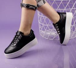 Pantofi sport negri cod:LL1748