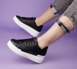 Pantofi sport negri cod:LL1781N